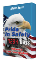Digi Day Safety Scoreboard | Pride in Safety| Semi Custom  SCA284 Accuform