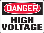 Danger High Voltage Sign - Max Aluma-Wood - 36'' X 48''
