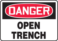 Danger - Open Trench 1