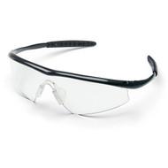 Safety Glasses - Crews Tremor  Onyx Frame- Clear Lens (12 Pair)