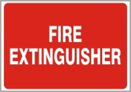 Fire Extinguisher Sign 11