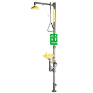 Speakman SE-690-PVC - PVC Emergency Shower with Eye/Face Wash