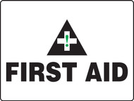 MFSD934 First Aid Big Safety Sign