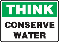 Think - Conserve Water