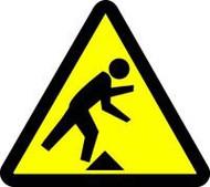 Tripping Hazard ISO Sign
