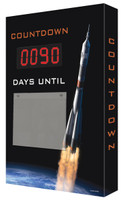 Countdown Scoreboard- Digi Day- Rocket Launch