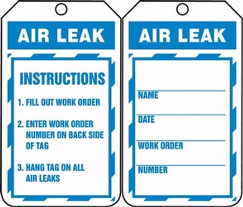 Air Leak Tag