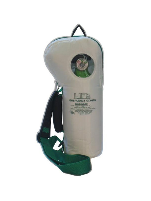 Life-2-612  Soft Pac Emergency Oxygen 6& 12 lpm