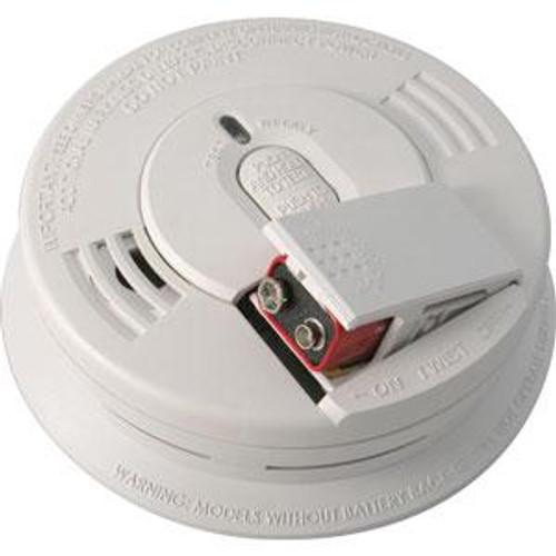 Smoke Alarm Ionization by Kiddie- 9V, Front Loading Battery Door
