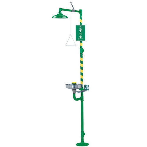 Haws 8300CRP-8309CRP Corrosion Resistant Emergency Shower