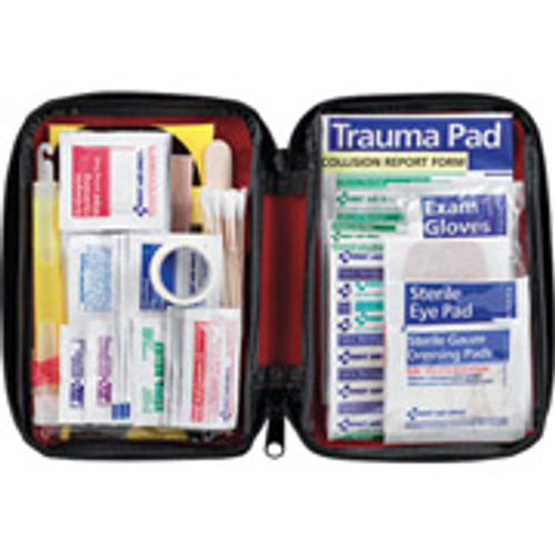 Automobile First Aid Kit- soft pack- 104 pc (2 kits per order)
