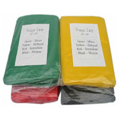 Triage Tarps with Carry Bag -4 total- green, yellow, red and black