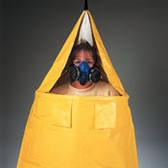 Respirator Fit Testing Tent- For Use with Iso Amyl Acetate- Banana Oil
