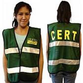 CERT Vest with Reflective Tape (4 CERT Vests Per Order)
