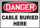 Danger - Cable Buried Here
