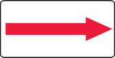 (Arrow) - Plastic - 7'' X 14''