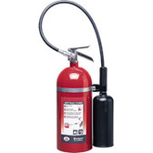Carbon Dioxide Fire Extinguisher- Badger- 20 lbs self expelling with wall hook