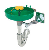 Haws Emergency Eyewash Station- Wall Mount w/ P Trap SP95 (waste trap) Included