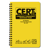 CERT All Weather Field Hand Book- 96 Pages (2 Books)