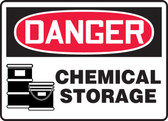 Danger - Chemical Storage 1