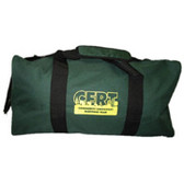 CERT Bag- Green Duffel Bag with CERT Logo (2 Bags)