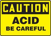 Caution - Acid Be Careful