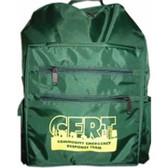 CERT Backpack (4 Empty Backpacks Per Order)