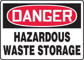 Danger - Hazardous Waste Storage