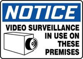 Notice - Video Surveillance In Use On These Premises Sign