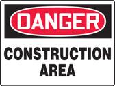 danger construction area sign MCRT203 XAW