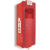 Fire Extinguisher Cabinet Mark II- Red Tub- Indoor- Outdoor