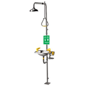 Speakman SE-623 Emergency Shower- Eyewash Stainless Steel