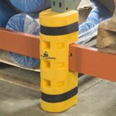 """Pallet Rack Protectors 3"""" W/ Cutout"""