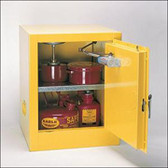 Eagle 2 Gallon Bench Top Flammable Storage Cabinet - Manual Door