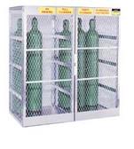 Justrite Cylinder Locker  Vertical  -20 Cylinder cap.