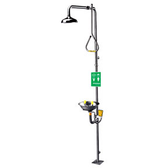 Speakman SE-625 Stainless Steel Emergency Shower with Eye/ Face Wash
