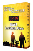 Digi Day Electronic Safety Scoreboard - Because Safety Matters SCA279