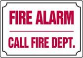 Fire Alarm Call Fire Dept.