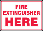 Fire Extinguisher Here