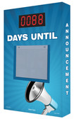 Countdown Scoreboard- Digi Day PLUS Announcement Megaphone