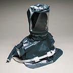 Double Bib Pharmaceutical Saran Hood w/Personal Air Cooler