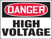 MELC085XAW Danger High Voltage Big Safety Sign