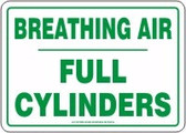 Breathing Air Full Cylinders