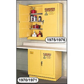 Eagle 24 Gallon Flammable Storage Cabinet-Wall Mount