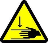 Crush Hazard ISO Symbol- Triangle