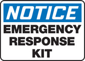 Notice - Emergency Response Kit