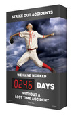 Digi Day Plus Outdoor Safety Scoreboard for Outdoor Use Baseball SCM317