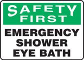 Safety First - Emergency Shower Eye Bath