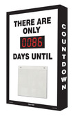 Countdown Scoreboard Digi Day PLUS- There Are Only #### Days