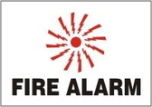 Fire Alarm Sign 2